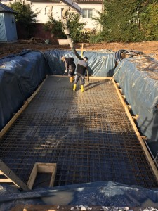 betonieren Bodenplatte
